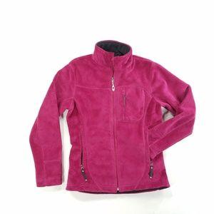 Mountain Hardwear Womens Zip Up Sweater Lined Coat